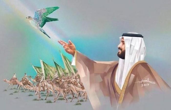 الخليح | صور مذهلة.. تشكيلي سعودي يرسم لوحاته بالقلم الضوئي