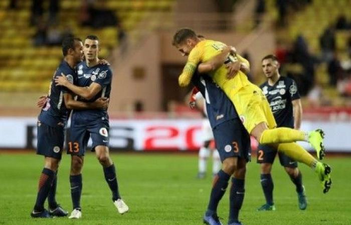 مونبلييه ينقض على المركز الثاني في الدوري الفرنسي