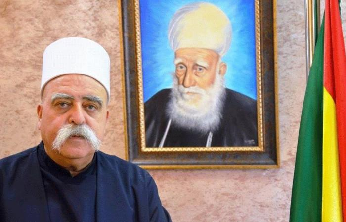 رسالة من الرئيس الروحي للدروز في إسرائيل إلى جنبلاط ووهاب