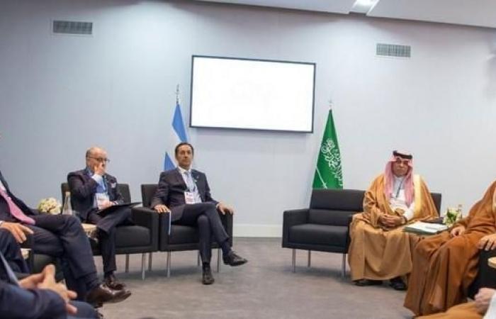 الخليح | ولي العهد السعودي يجتمع مع رئيس الأرجنتين
