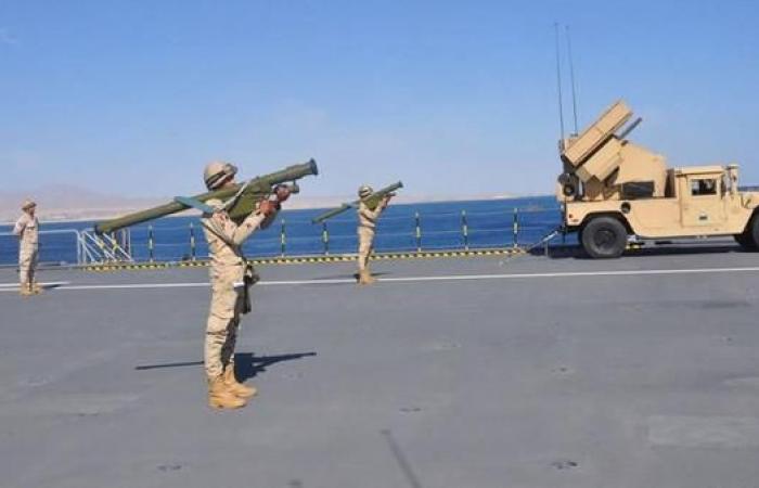 مصر | مناورات بحرية مصرية فرنسية في مياه البحر الأحمر