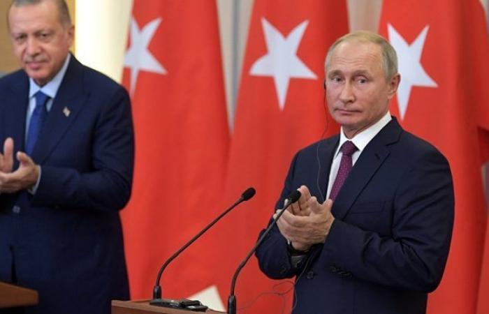 """سوريا   أردوغان يقترح على بوتين """" قمة جديدة """" حول إدلب"""