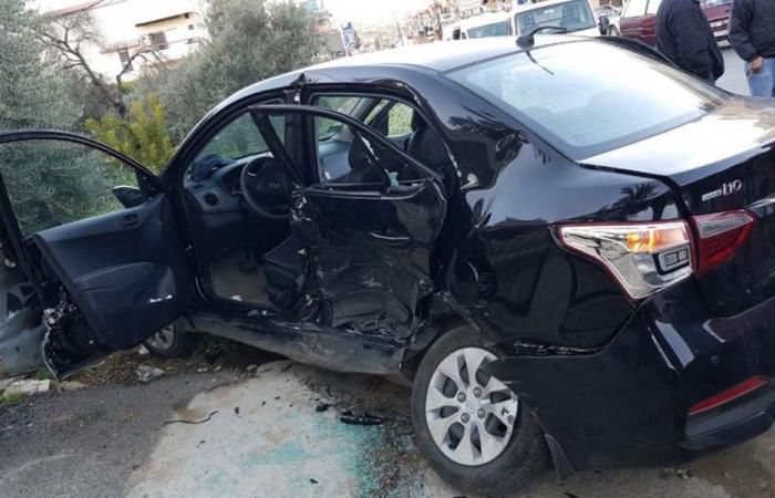 جريح جراء حادث سير في الكورة