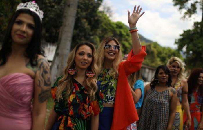 بالصور: مسابقة ملكة جمال سجون البرازيل