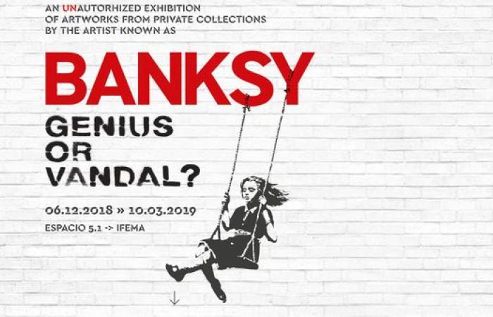 معرض لأعمال الفنان بانكسي في مدريد.. من دون موافقته
