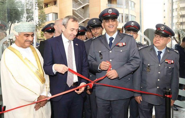 فصيلتان نموذجيتان لقوى الأمن في بيروت