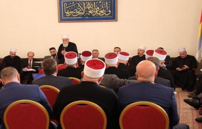 المجلس المذهبي للدروز: نحذر من مخاطر الوضع الاقتصادي