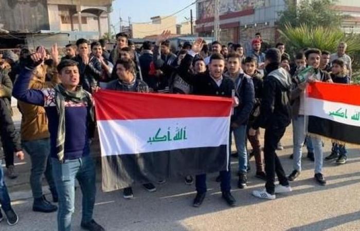 العراق   العراق.. إضراب العشرات من طلبة المدارس بسبب المناهج