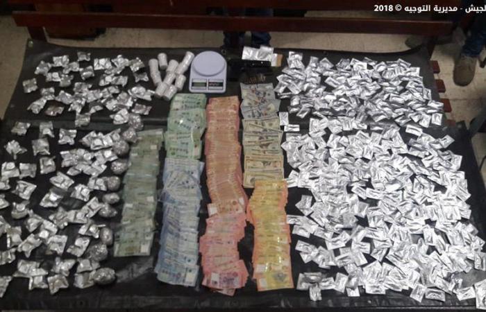بالصور: توقيف احد اهم تجار المخدرات في جبل لبنان
