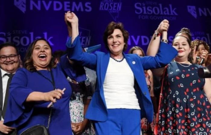 نيفادا أول ولاية أميركية تشكل النساء أغلبية في برلمانها
