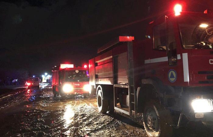 حريق في مخيّم للنازحين السوريين في زحلة