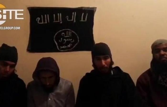 فيديو.. ذابحو السائحتين في المغرب يبايعون داعش