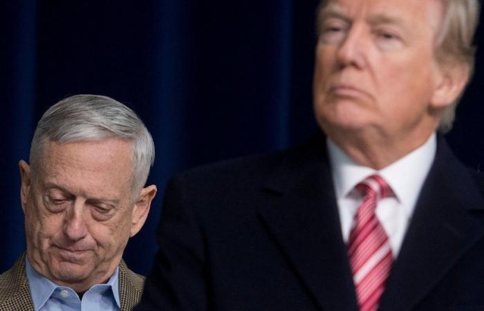 استقالة وزير الدفاع الأمريكي جيم ماتيس