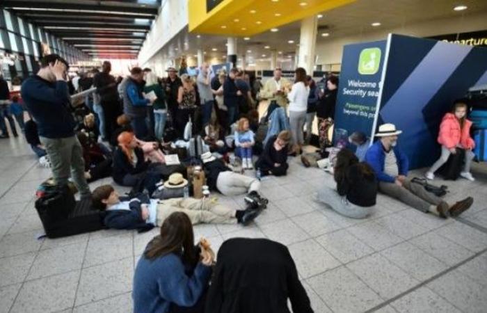 إعادة فتح مطار غاتويك والإعلان عن تشغيل عدد محدود من الرحلات