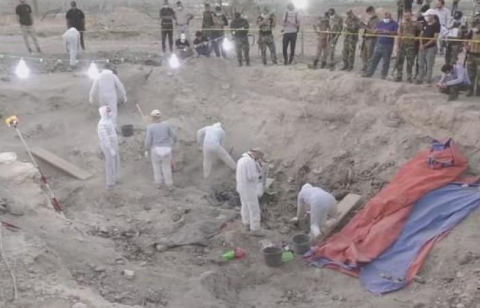العراق | القوات الأمنية تعثر على مقبرة جماعية جديدة شمال بغداد