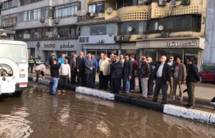 فلسطين   فيديو وصور.. محافظ القاهرة يتفقد موقع كسر ماسورة مياه كورنيش النيل أمام ماسبيرو