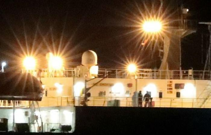 تحرير سفينة الشحن (غراندي تيما)