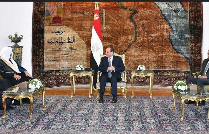مصر   السيسي: مواقف السعودية تجاه مصر مقدرة