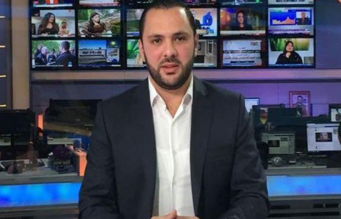 بالصور: الصحافي علي حجازي يتعرض لحادث سير مروع