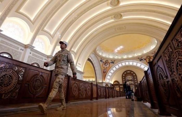 مصر | تعزيزات أمنية بمحيط الكنائس لتأمين احتفالات أقباط مصر