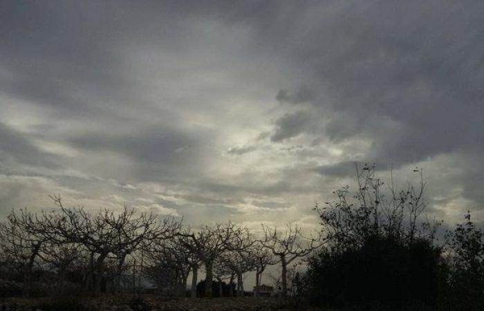 العاصفة تتسبب بأضرار في معظم أحياء بلدة المنية