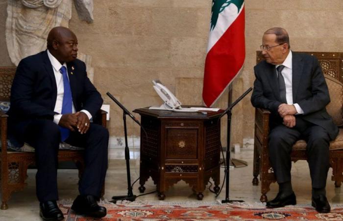 عون: لبنان يقدر وقوف جمهورية غينيا بيساو الى جانبه