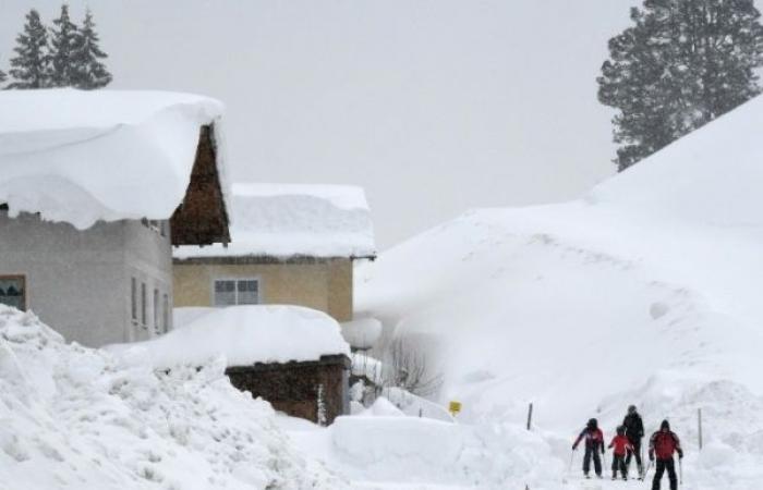الثلوج تُغرق النمسا