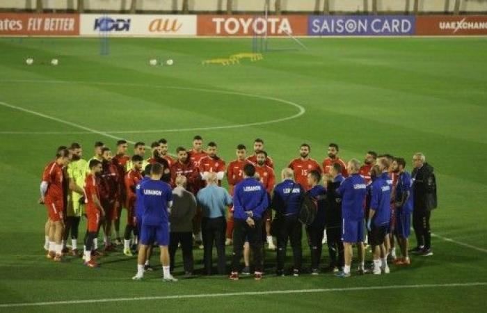 كأس آسيا: لبنان باللون الابيض يواجه قطر الاربعاء