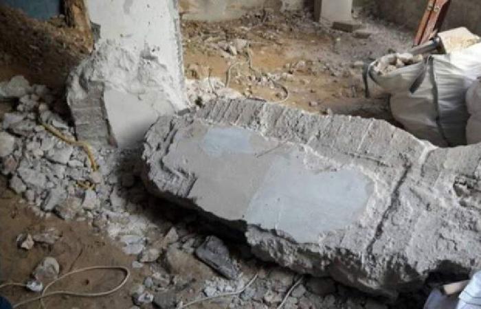 سقوط جدران صخرية وانجرافات في بنت جبيل
