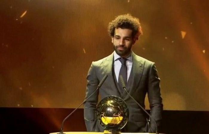 محمد صلاح يتوج بجائزة أفضل لاعب إفريقي للمرة الثانية على التوالي