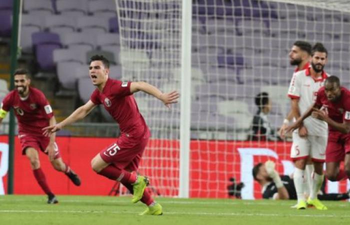 منتخب لبنان يتلقى الخسارة من منتخب قطر بهدفين نظيفين