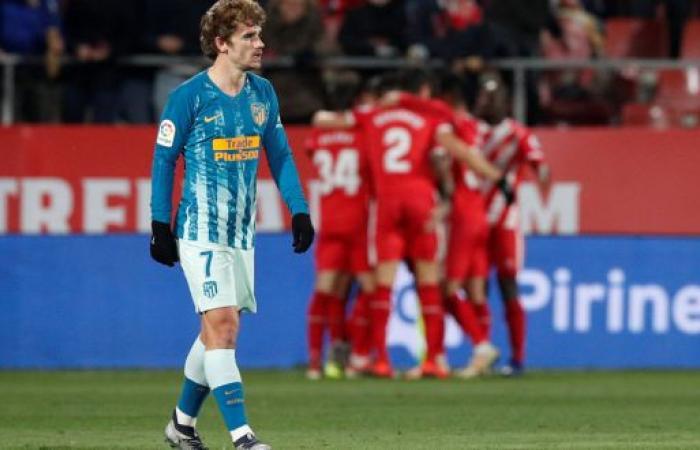 جيرونا يرغم أتلتيكو مدريد على التعادل