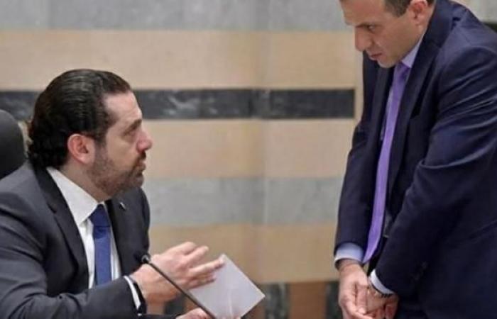 """باسيل ينسّق مع """"حزب الله"""" لوضع الحريري أمام الأمر الواقع"""