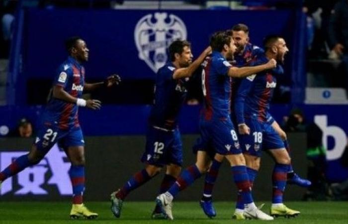 ليفانتي يهزم برشلونة بهدفين لهدف في كأس الملك