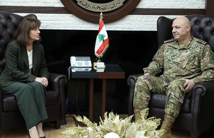 الأوضاع بين قائد الجيش وسفيري الولايات المتحدة وبريطانيا