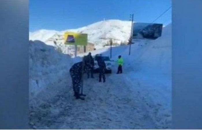 بعدما توافد رواد التزلج الى فاريا وكفردبيان... اليكم ما حصل!