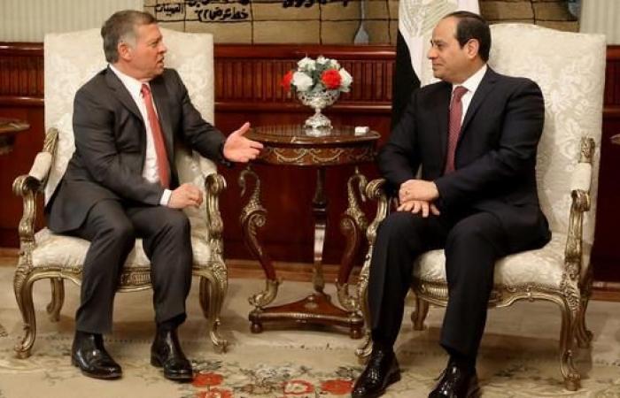مصر   السيسي في الأردن الأحد لبحث العلاقات الثنائية