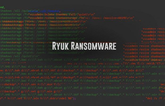 برمجية انتزاع الفدية Ryuk الجديدة تجمع 4 ملايين دولار باتباع إستراتيجية غير معهودة