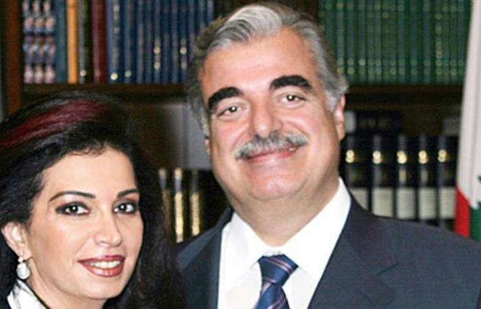 صورة قديمة.. فنانة لبنانية تتوسّط الرئيس رفيق الحريري وزوجته نازك!
