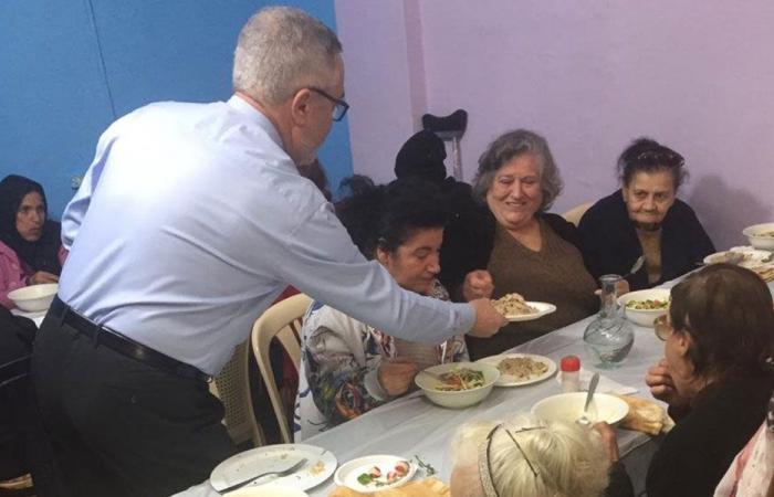 أبي اللمع زار مركز يسوع خبز الحياة في برج حمود