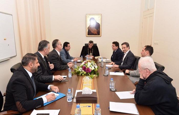 اجتماع لجنة المتابعة عن لقاء النواب الموارنة