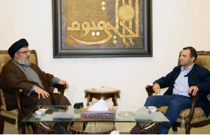 """نصرالله: باسيل """"اخترع"""" إعطاء """"التشاوري"""" مقعداً من حصة عون"""