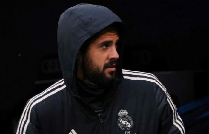 إيسكو يشكو من الظلم في ريال مدريد
