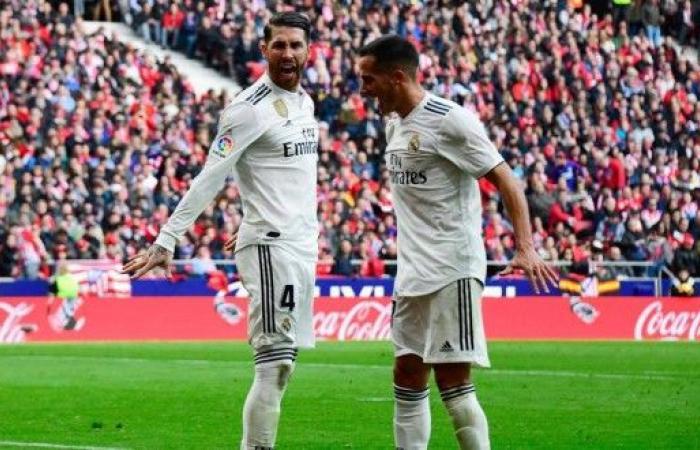 ديربي مدريد ينتهي ملكياً والريال ينتزع وصافة الليغا