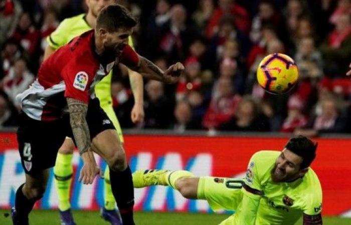 بيلباو يسقط برشلونة المتصدر بتعادل لصالح الريال المتربص