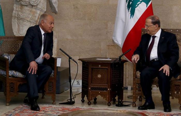 أبو الغيط في بعبدا: لا توافق على عودة سوريا