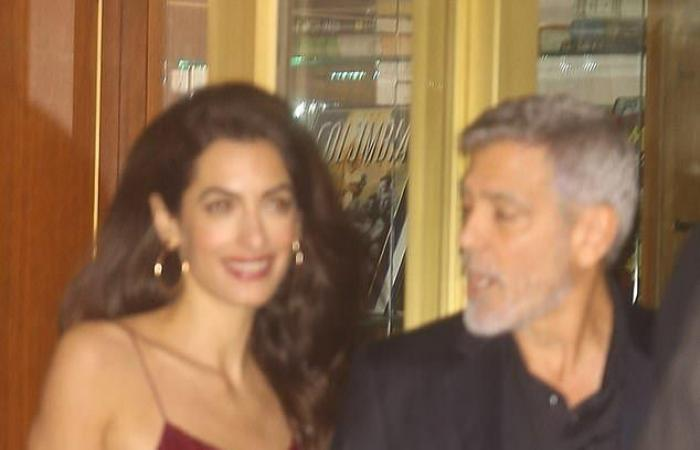 بعد شائعات طلاقهما.. هكذا تصرّف جورج مع أمل أمام الكاميرات! (صور)