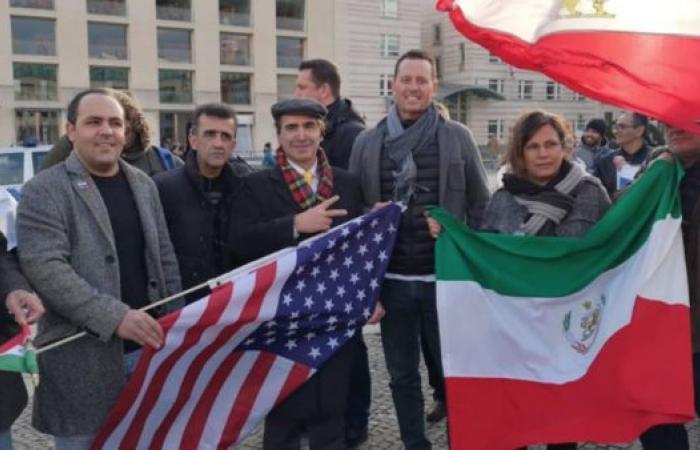إيران   سفير أميركا ببرلين يحضر مظاهرة إيرانيين مناهضين للنظام