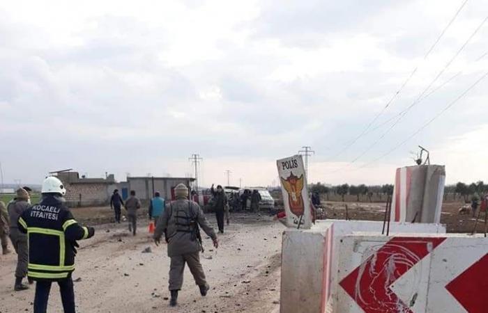سوريا | شاهد لحظة تفجير سيارة مفخخة عند الحدود السورية التركية