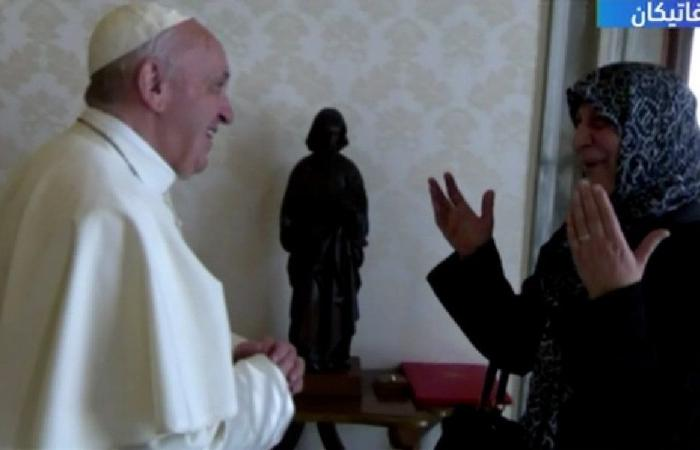 لقاء استثنائي بين عائلة الإمام الصدر والبابا